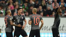 Bayern yıldızlarıyla şov yaptı!