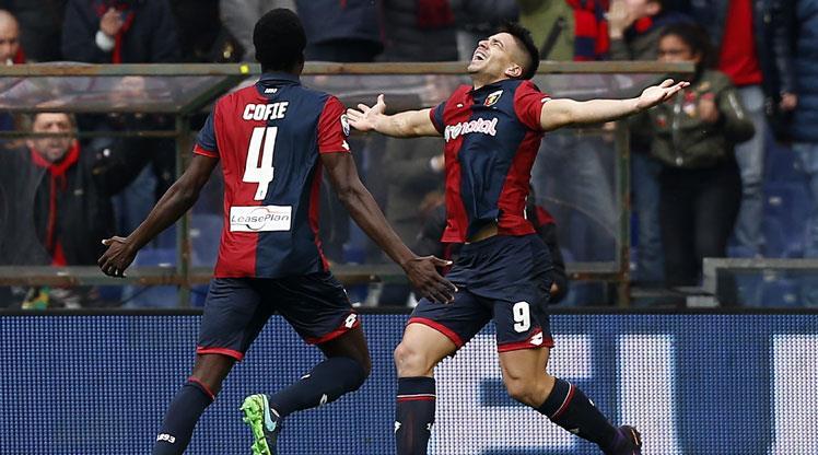 Buffon ne yaptıysa Simeone'nin oğlunu durduramadı!