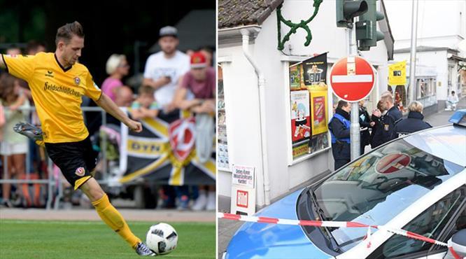 Alman futbolcuya silahlı saldırı