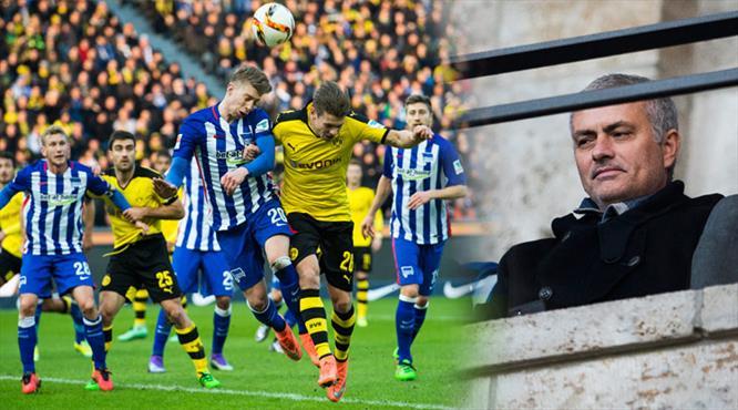Mourinho izledi Dortmund takıldı