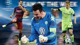 Devler Ligi'ne Wolfsburg damgası! İşte haftanın 11'i...