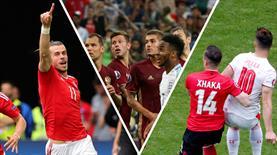 İşte Euro 2016'nın 2. gününe damga vuran anlar!..