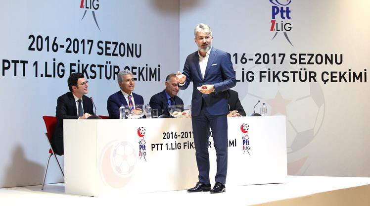 İşte PTT 1. Lig fikstürü