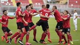 Yarıda kalan maçı Arnavutluk kazandı!