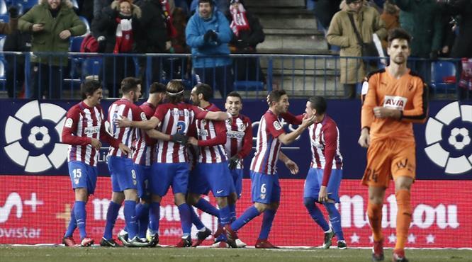 Atletico Madrid tur kapısını araladı! (ÖZET)