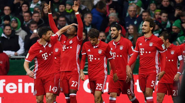Bayern 2'de 1'de aynı şeyi yapıyor