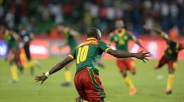 Aboubakar attı Kamerun turladı