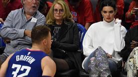 Kendall Jenner NBA'e damga vurdu!