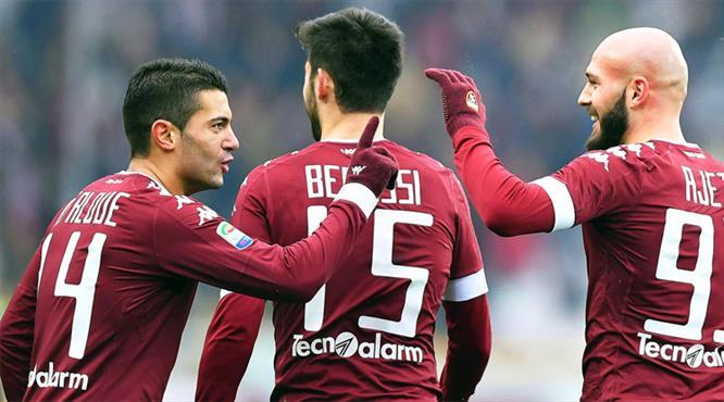 8 gollü düello Torino'nun (ÖZET)