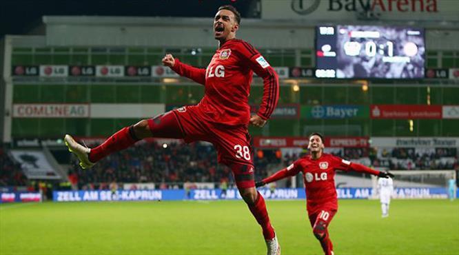 Bellarabi Bundesliga tarihine geçti!