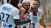 Bu maçta normal gol atılmadı! İşte Lyon'un son lig maçı! (ÖZET)