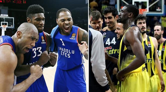Fenerbahçe ve Anadolu Efes'in rakipleri belli oldu