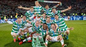Celtic üçlüyü tamamladı!