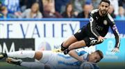 Huddersfield kaçtı, Leicester yakaladı (ÖZET)