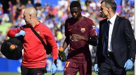 Barça resmen açıkladı! Dembele ne kadar uzak kalacak?