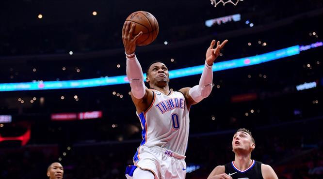 Westbrook yine çıldırdı!