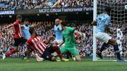 Manchester City'den gol yağmuru: 6-1 (ÖZET)