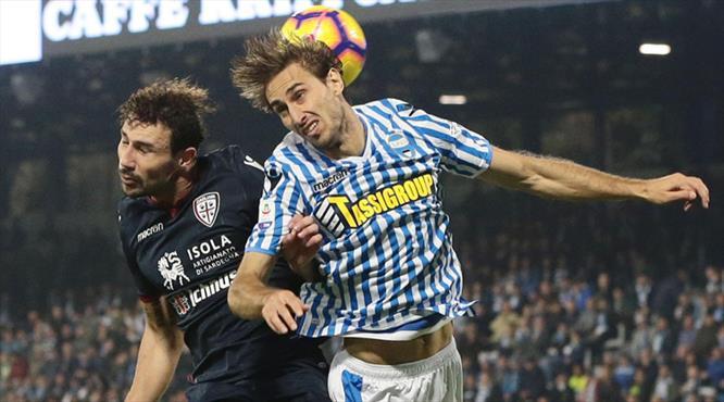 Spal kaçtı, Cagliari yakaladı