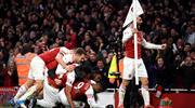 Geri dönüşlerin derbisinde Arsenal coştu (ÖZET)