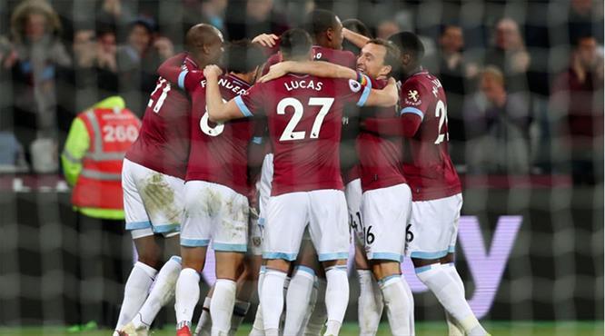 West Ham'dan 45 dakikalık şov (ÖZET)