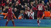 Efsane maça Salah damgası! Son bilet Liverpool'un (ÖZET)