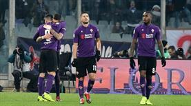 Fiorentina derbide şeytanın bacağını kırdı (ÖZET)