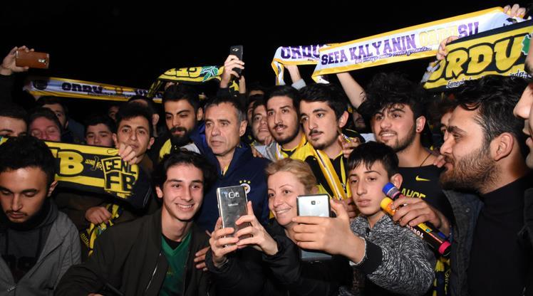 Giresun'da Fenerbahçe coşkusu