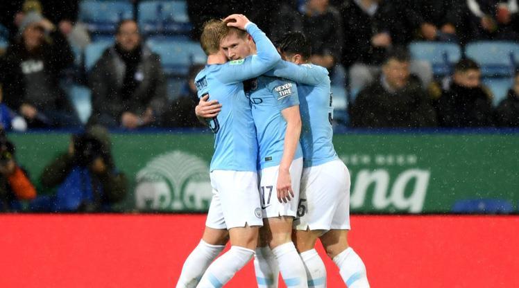 Manchester City penaltılarla yarı finalde! Çağlar Söyüncü...