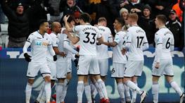 Carvalhal etkisi! Swansea gol oldu yağdı (ÖZET)