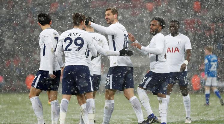 Tottenham 6 golle çeyrek finalde
