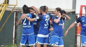 Erzurumspor gol oldu yağdı: 6-1 (ÖZET)
