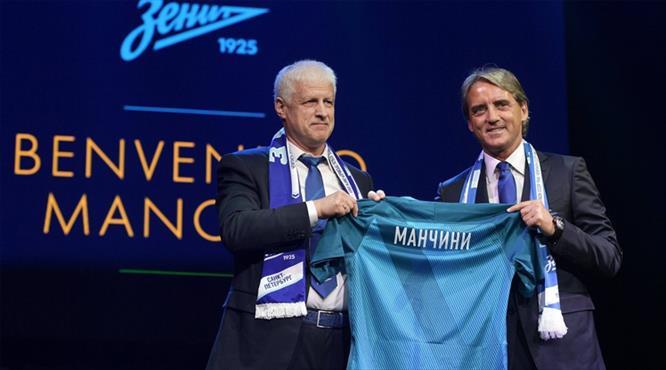 Zenit'te Mancini dönemi bitti