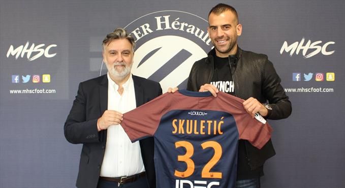 Skuletic Montpellier'de