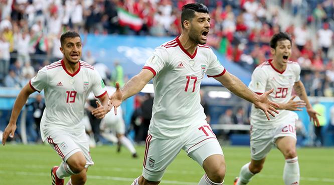 İran 90+5'te tarih yazdı
