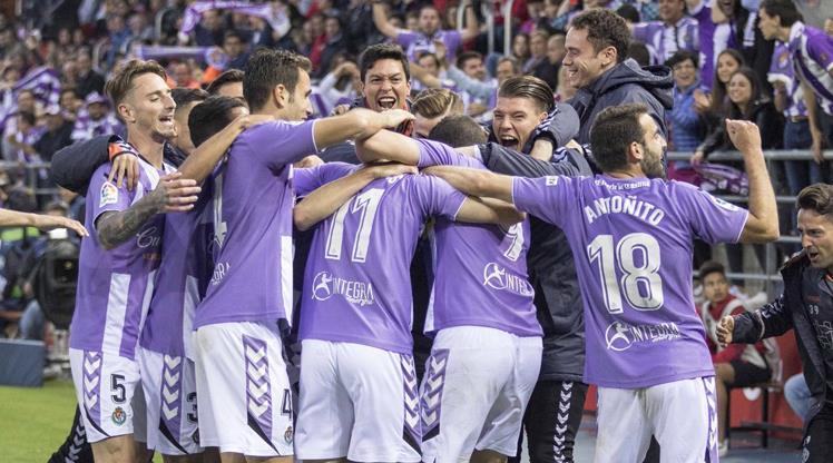 LaLiga'ya son bilet Valladolid'in