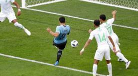 Suarez attı, Muslera'lı Uruguay gruptan çıktı!