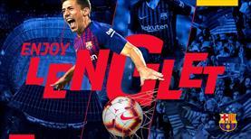 Barcelona genç stoperi resmen açıkladı!