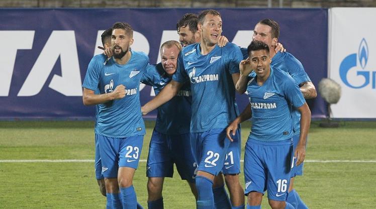 Zenit'ten tarihi geri dönüş! 4-0'ın rövanşında 8-1!