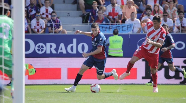 Girona kaçtı Huesca yakaladı!