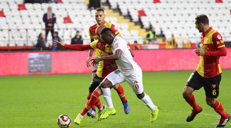 Göztepe'nin konuğu Antalyaspor
