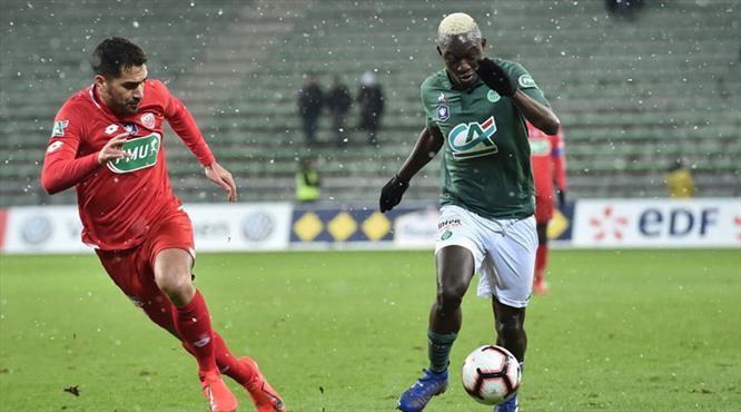 9 gollü çılgın maçta tur Dijon'un (ÖZET)