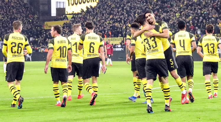 Dortmund şov sürüyor: 5-1