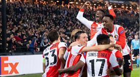 Feyenoord Avrupa'da siftah yaptı (ÖZET)