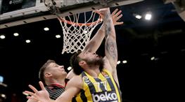 Fenerbahçe Beko deplasmanda kayıp (ÖZET)