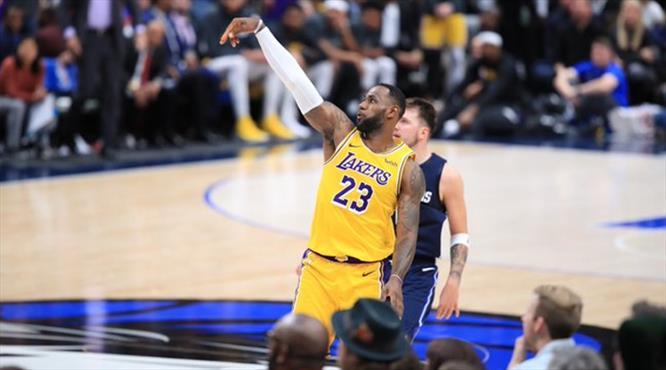 LeBron şov yaptı, Lakers uzatmalarda kazandı