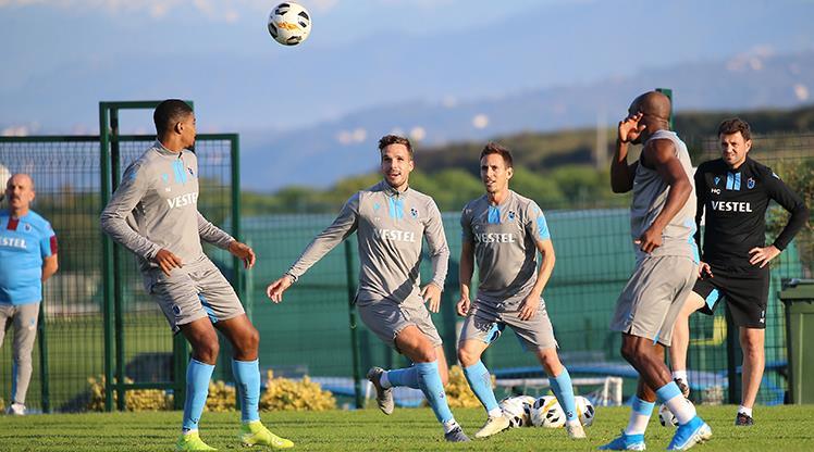 Trabzonspor, Krasnodar maçının hazırlıklarına başladı