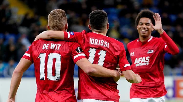 Alkmaar'dan gol şov: 5-0 (ÖZET)