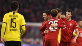 Bayern, Dortmund'u parçaladı