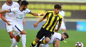 İstanbulspor - EG Menemenspor: 1-2 (ÖZET)
