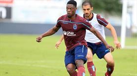 Trabzonspor'da Ekuban sevinci
